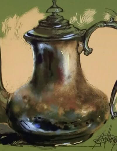 Painting of Water Pitcher